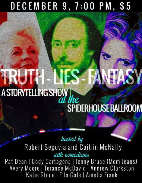 Truth Lies Fantasy Poster